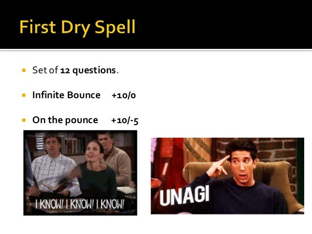 The one with the finals Slide 2