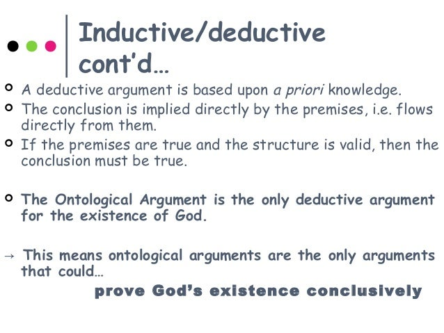 an ontological argument for the experience of god by st anselms Anselm: ontological argument for god's existence one of the most fascinating arguments for the existence of an all-perfect god is the ontological argument while there are several different versions of the argument, all purport to show that it is self-contradictory to deny that there exists a greatest possible being thus, on.