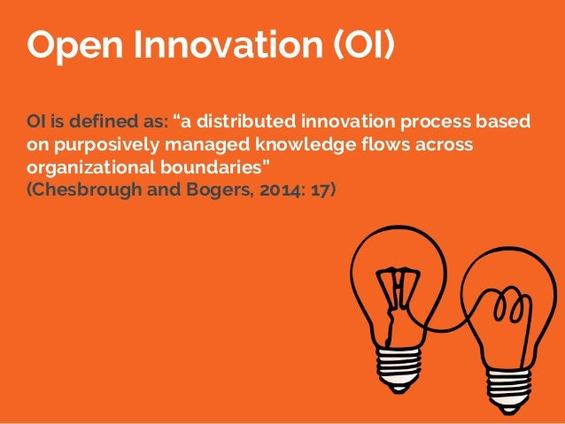 The open innovation research landscape: Established perspectives and emerging themes across different levels of analysis Slide 2