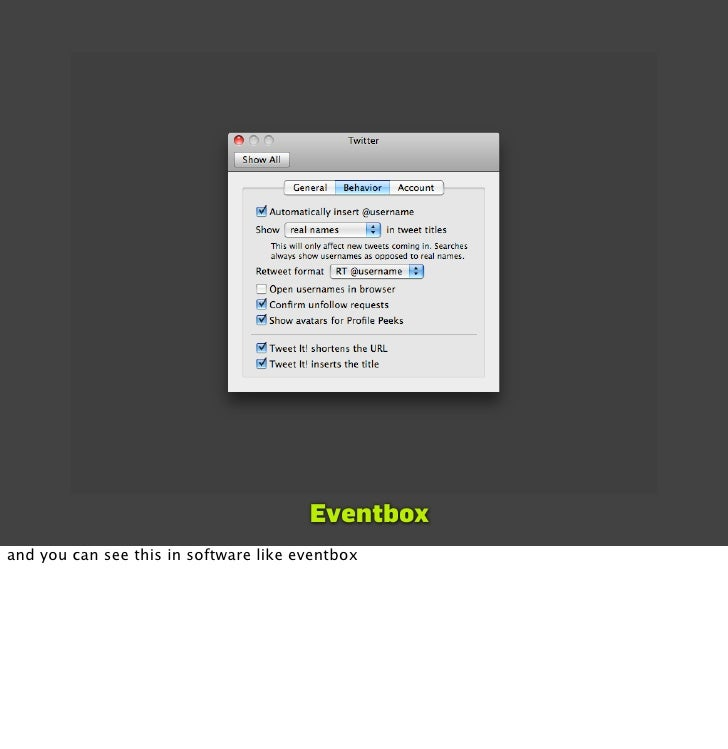 Eventbox and you can see this in software like eventbox