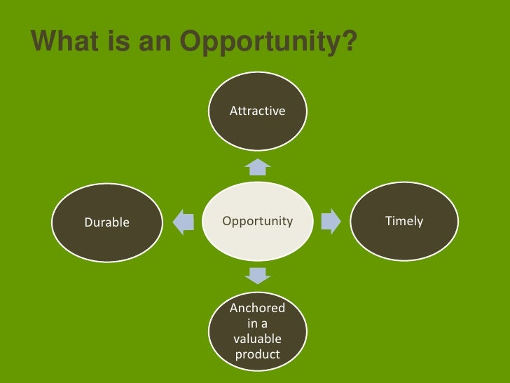 What is an Opportunity?<br />