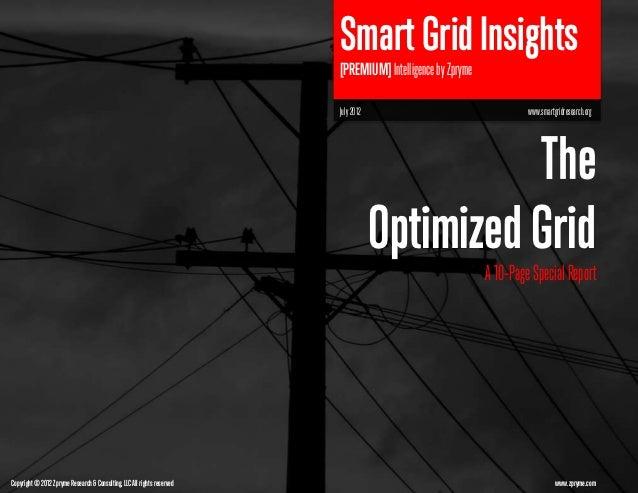 Smart Grid Insights                                                                         [PREMIUM] Intelligence by Zpry...