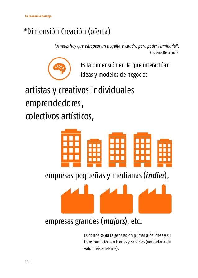 La Economía Naranja 146 También ha tomado por sorpresa a las organizaciones más grandes, Explosión cámbrica. Desde el punt...