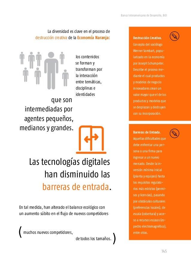 """Banco Interamericano de Desarrollo, BID 147 *Dimensión Goce (demanda) """"El fin último de toda industria y de todo comercio ..."""