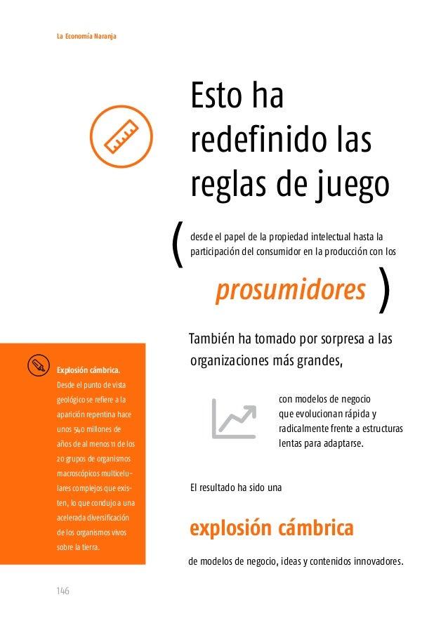 La Economía Naranja 148 Las personas acceden a los contenidos consumiendo bienes y servicios, Estas ventanas son puntos de...