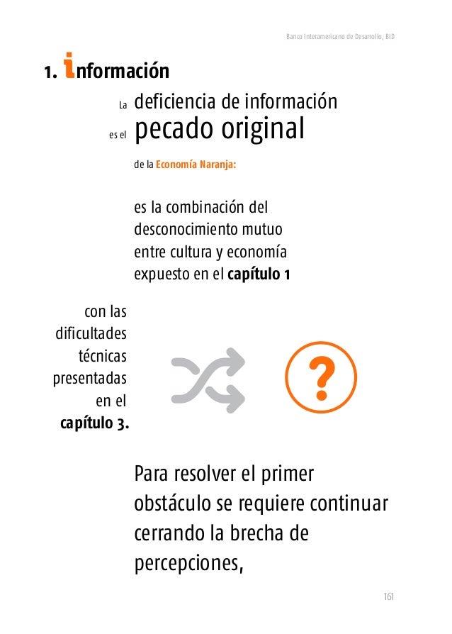 Banco Interamericano de Desarrollo, BID 163 mapear la Economía Naranja es fundamental para superar los persistentes vacíos...