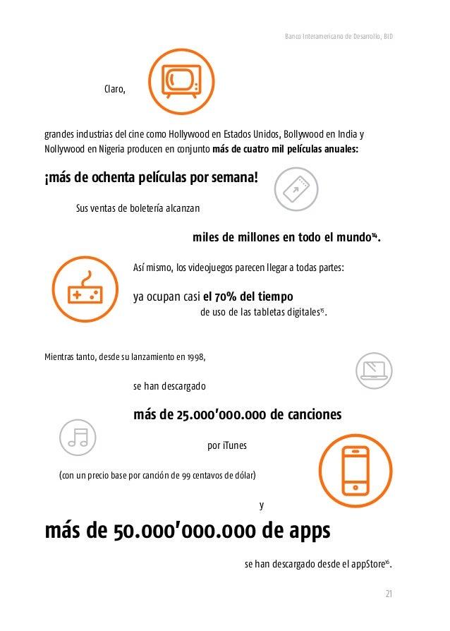 Banco Interamericano de Desarrollo, BID 23 Mientras tanto, a lo largo de las mismas tres décadas, los diez musicales más e...
