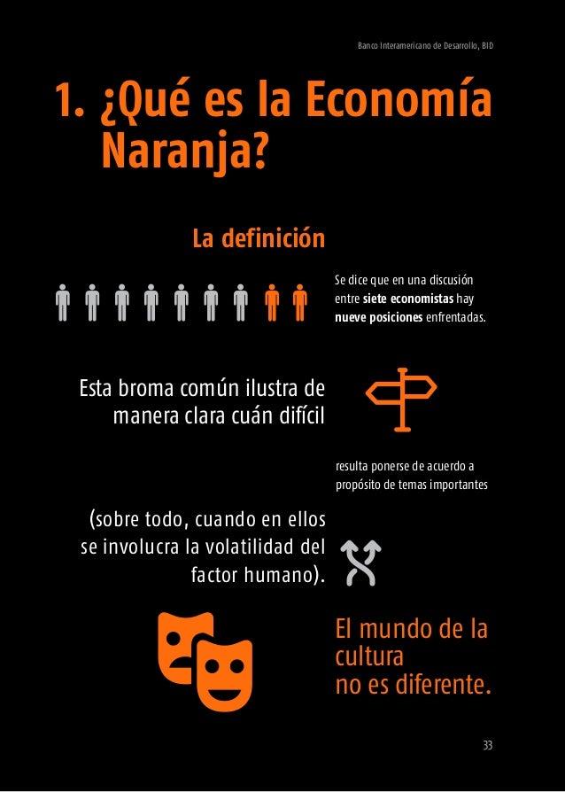 Banco Interamericano de Desarrollo, BID 35 cada uno con numerosas definiciones diferentes. Es natural que existan estas di...