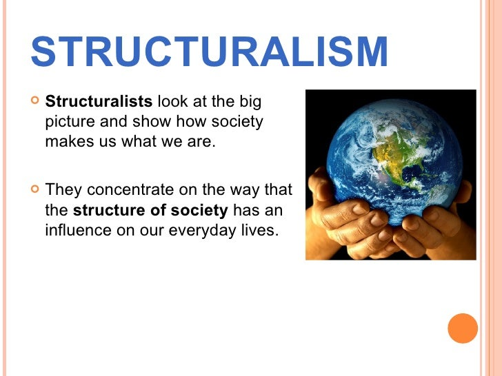 structural approach sociology