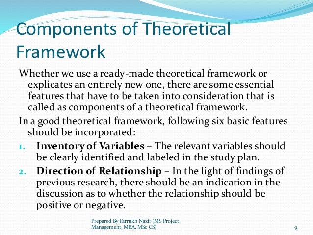 theoretical framework on time management A framework is presented for managing value-delivery system lead time  reduction activities within a manufacturing firm the framework is based on an  empirical.