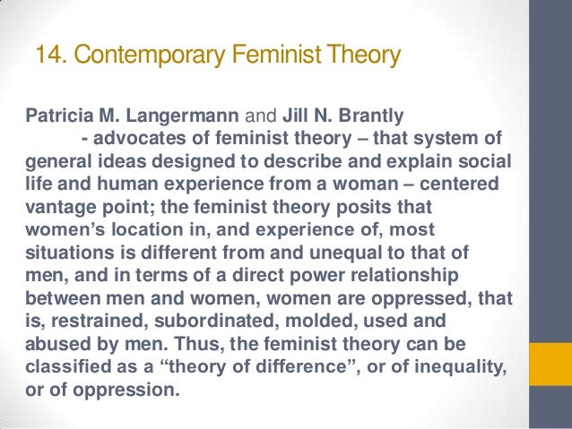 Feminist Theory Sociology Essay With Diagram - Essay for you