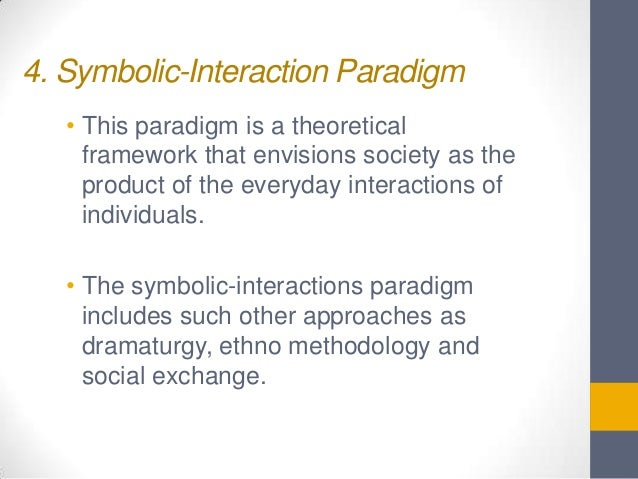Sociology Theoretical Paradigms