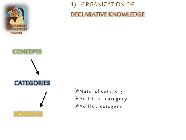 8 Types of Organizational Knowledge