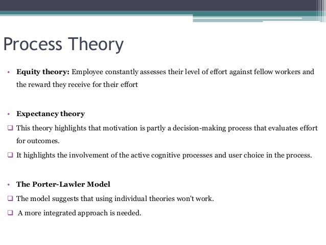 content theory of motivation essay Douglas mcgregor proposed two theories about employee motivation based on two very different sets of assumptions that managers hold towards.