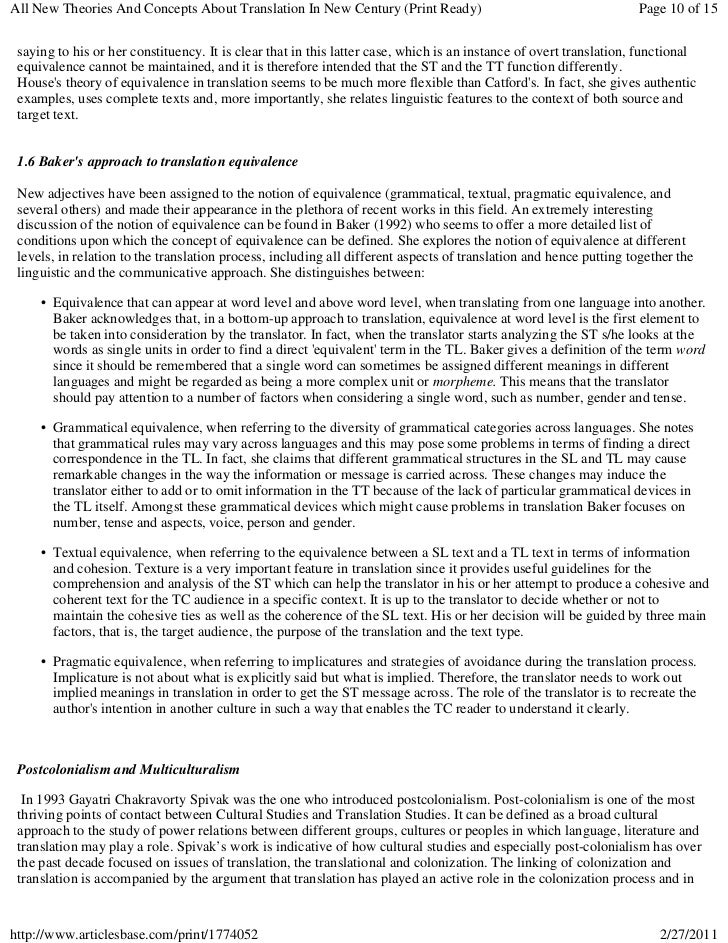 All New Theories And Concepts About Translation In New Century (Print Ready)                                        Page 1...