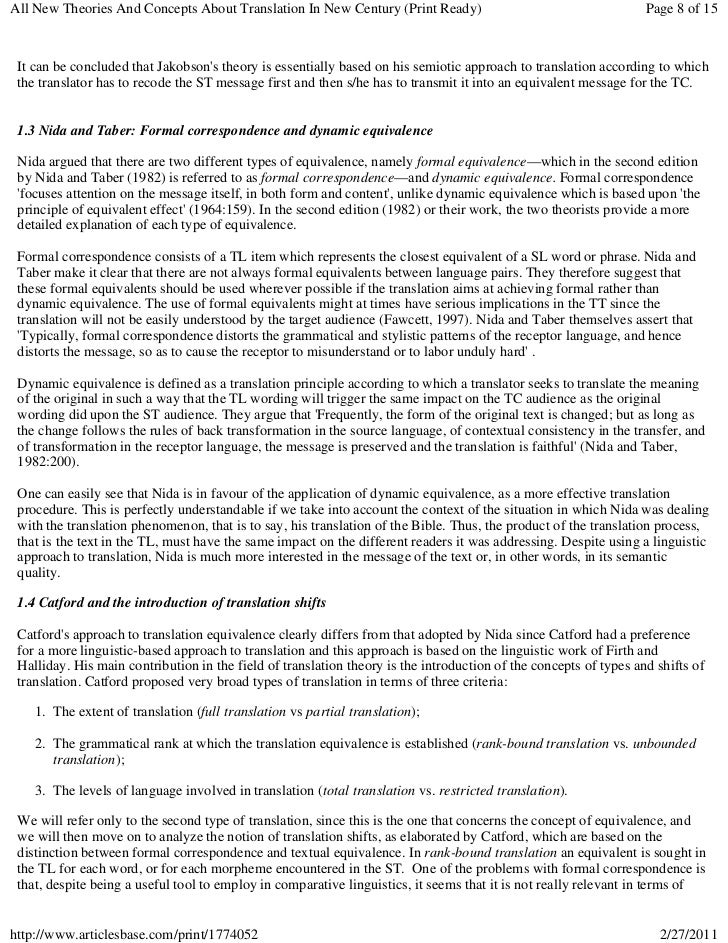 All New Theories And Concepts About Translation In New Century (Print Ready)                                       Page 8 ...