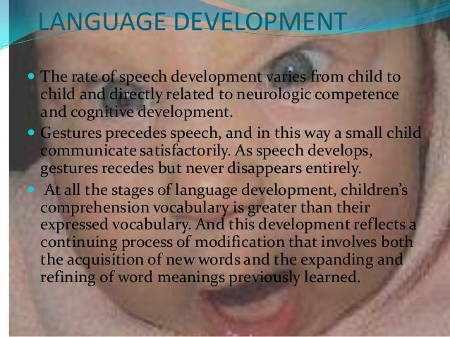theories factors affecting growth and development 66 language development