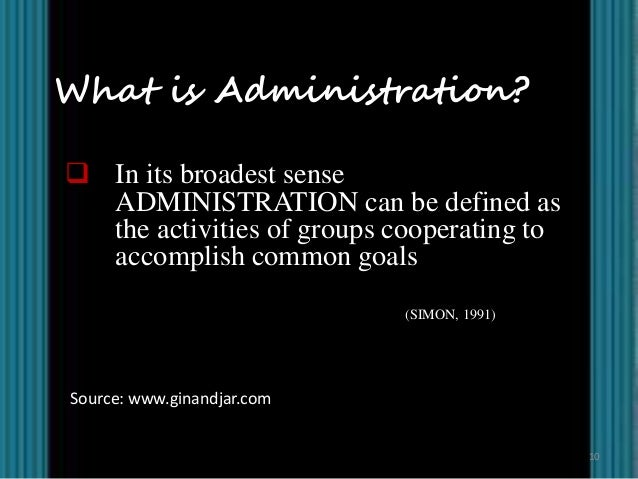 administrative theories in public administration Pls 500 - public administrative theory lecture notes - imperial competing values in public administration rosenbloom (1983) argues that the central problem of contemporary public administration.