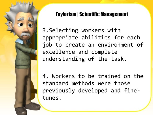 scientific management developed by frederic taylor Quality control, scientific management - taylor, frederick winslow (1856-1915),  early 1900s frederick winslow taylor developed the concept of shop system.