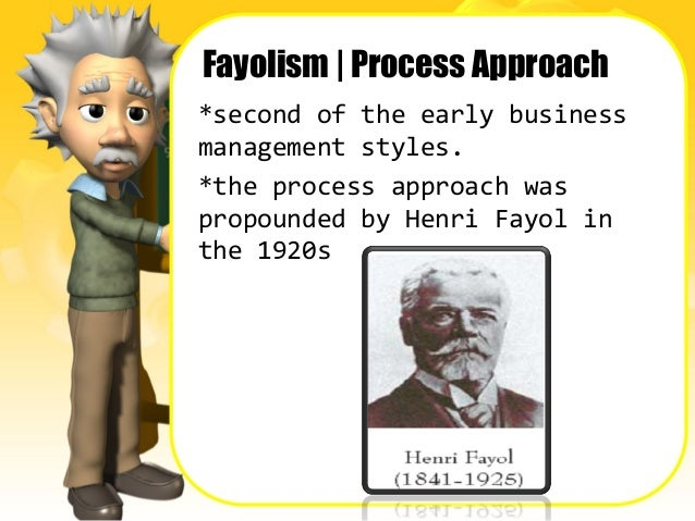 taylorism and fayolism Fayolism is essentially an adaptation of taylorism, which follows specific principles that include division of work, discipline and authority, centralisation, unity of command and direction, order and equity, stability of personnel, initiative and subordination of individual interest for the common good (budd, 2004, p 16.
