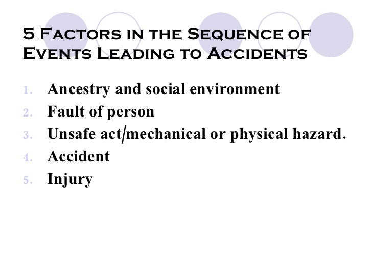 compare theory of accident causation View 3 theories of accidents causation from english 1010 at antioquia institute of technology occupational safety and health for technologists, engineers, and managers eighth.