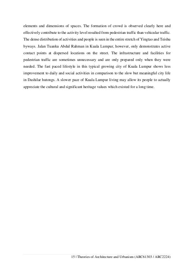 Theories of Architecture and Urbanism Comparative Analysis Essay