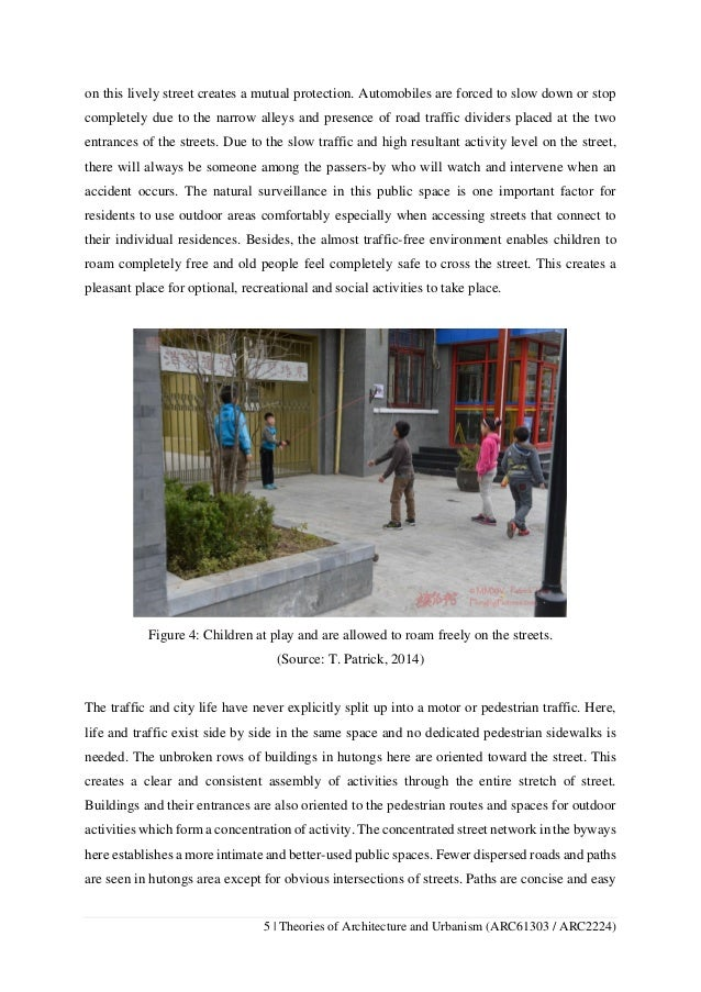 theories of architecture and urbanism comparative analysis essay the large number of people 5