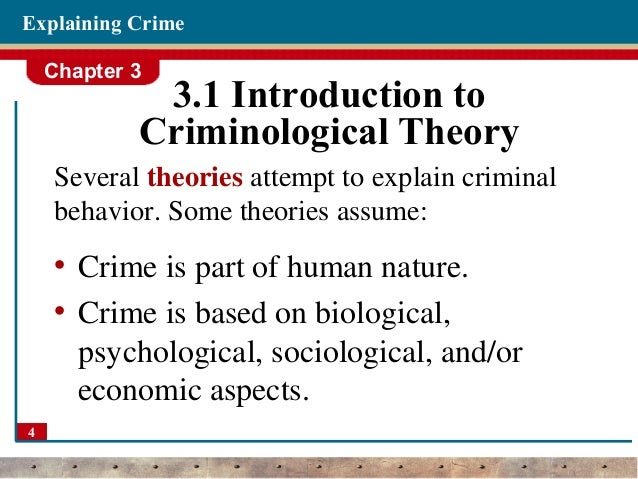 the different theories attempting to explain the types of criminals Theory of differential association essay examples 3 total results the different theories attempting to explain the types of criminals 1,136 words 3 pages an analysis of the theory of differential association and strain theory 880 words 2 pages.