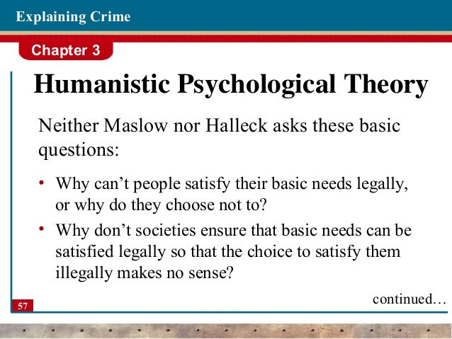 behavioral theory of crime