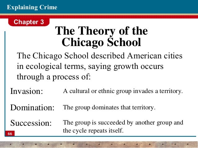 neighborhoods and crime theory Disorganization theory social disorganization links crime rates to neighborhood characteristics and the impact that these neighborhood characteristics have on a neighborhoods ability to.