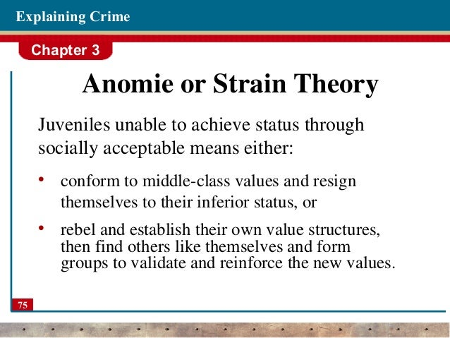 merton and agnew strain theory