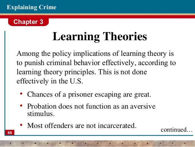 theories of crime causation View essay - theories of crime (1) from cj 102 at kaplan university theories of crime causation title name course instructor august 31, 2014 1 theories of crime causation there are various theories.