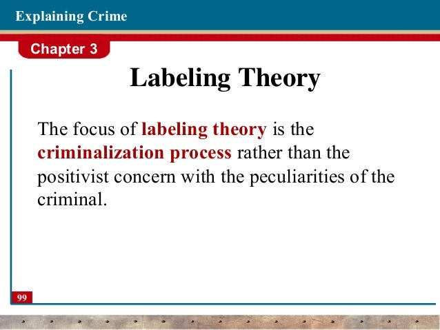 labelling theory crime essay