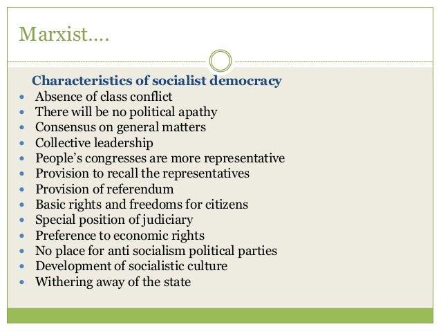 characteristics of socialist economy