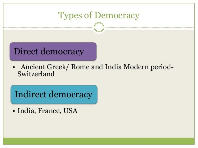 athenian democracy vs modern democracy Describing classical athenian democracy is difficult because of critics of democracy (ancient and modern) much of our evidence comes from athenian.
