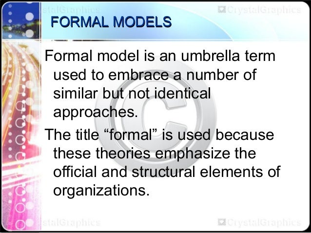 Theories of Educational Management Slide 3