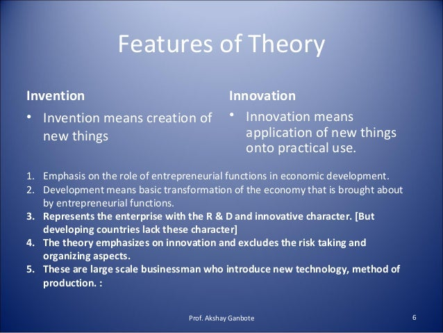 theories of entrepreneurship 2018-7-15 volume 16, no 4 (winter 2013)abstract: richard cantillon is credited with the discovery of economic theory and was the first to fully consider the critical role of entrepreneurship in the economy.