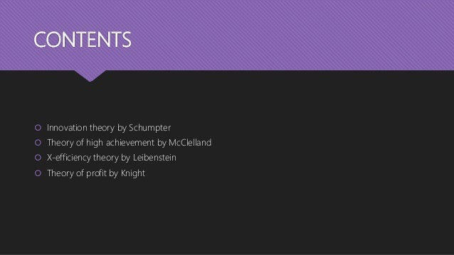 Theories of entrepreneurship Slide 2