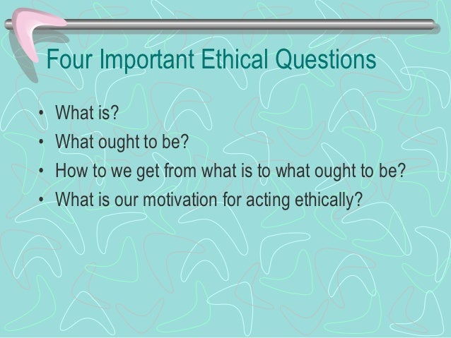 3 Models of Management Ethics  Three Types Of Management Ethics