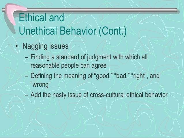 Legal Versus Ethical Behavior: The Issue of Lying    Legal                                      Ethical   behavior        ...