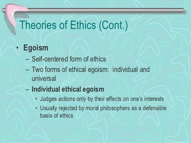 ethical egoism versus theory of enlightened self interest Ethics and enlightened self-interest disk i21 printed june 1995 [or morality and the self] abstract morality seems opposed to making a success of business, but it is not really so there are.