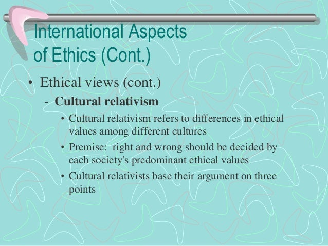the theory of ethical relativism The most head-on rejection of ethical realism is perhaps the sort of moral error theory but unlike ethical non-cognitivism, moral relativism does not.