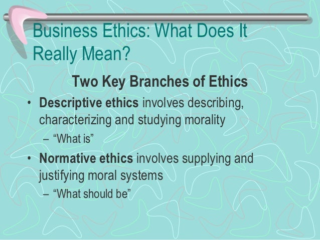 Conventional Approach to Business Ethics• Conventional approach to business ethics  involves a comparison of a decision or...
