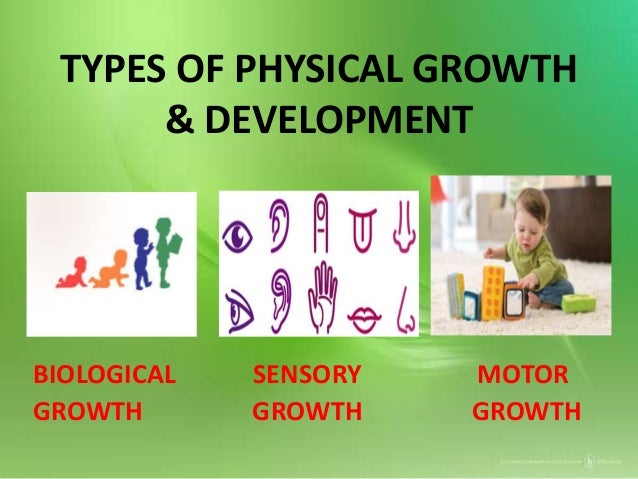BIOLOGICAL GROWTH changes in general body growth: • Changes results from different rates of growth in different parts of t...
