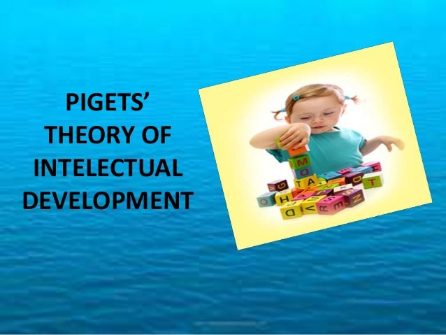 According to Piget, there are four stages of development - 1. Sensory motor stage 2. Pre – operational stage 3. Concreter ...