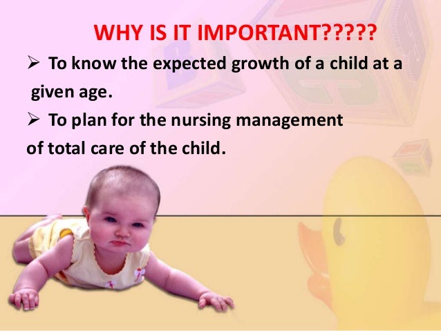  To better understand the reason for particular condition & illness those occur in various age groups.