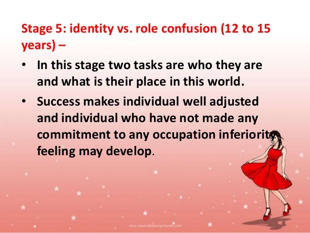 Stage 6: intimacy vs. absorption (late adolescence) – • In this stage adult forms intimate relationships with others. • Th...