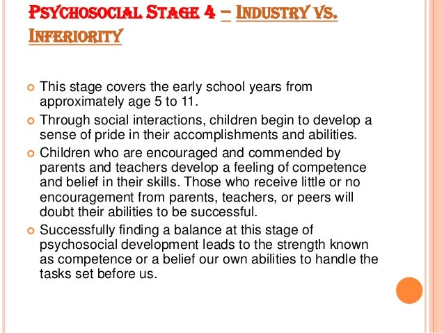 psychosocial development 2 essay Read this essay on psychosocial development through the play years come browse our large digital warehouse of free sample essays get the knowledge you need in order.