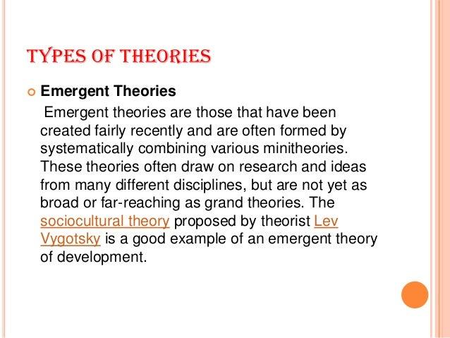 Behavioural change theories