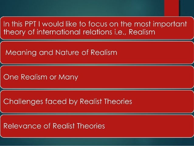 theories of international relations by malik A lively, readable and relevant foundational introduction to ir theory that will help  students to see not only what theories are, but why they.